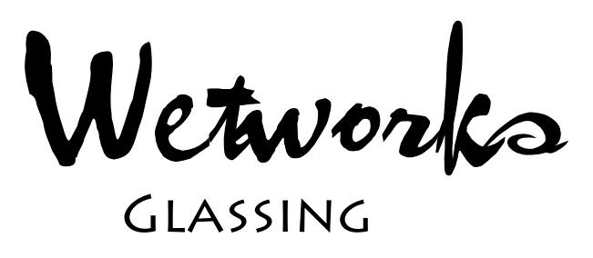 Wetworks glassing logo